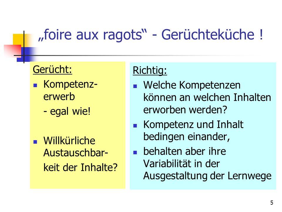 """""""foire aux ragots - Gerüchteküche !"""