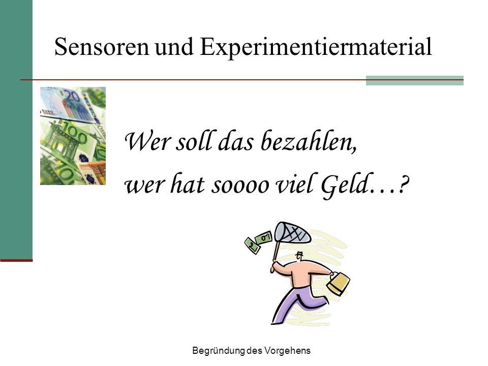 Sensoren und Experimentiermaterial
