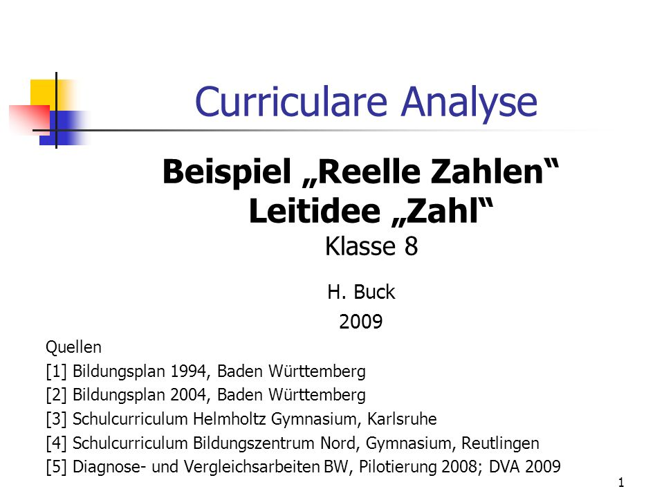 "Beispiel ""Reelle Zahlen Leitidee ""Zahl Klasse 8"