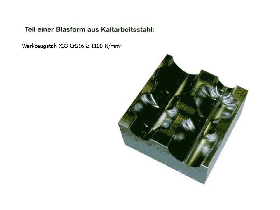 Werkzeugstahl X33 CrS16 ≥ 1100 N/mm²