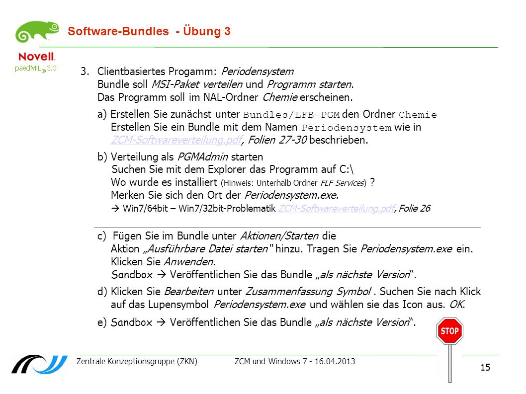 Software-Bundles - Übung 3
