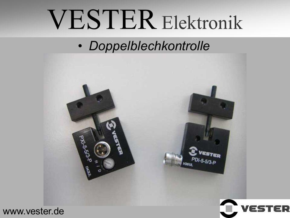 VESTER Elektronik Doppelblechkontrolle www.vester.de