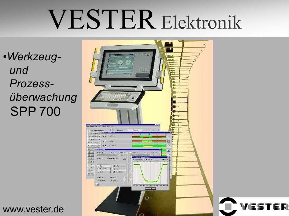 VESTER Elektronik SPP 700 Werkzeug- und Prozess- überwachung