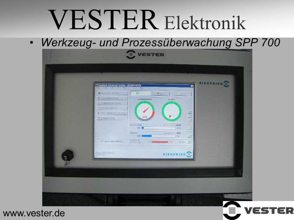 VESTER Elektronik Werkzeug- und Prozessüberwachung SPP 700