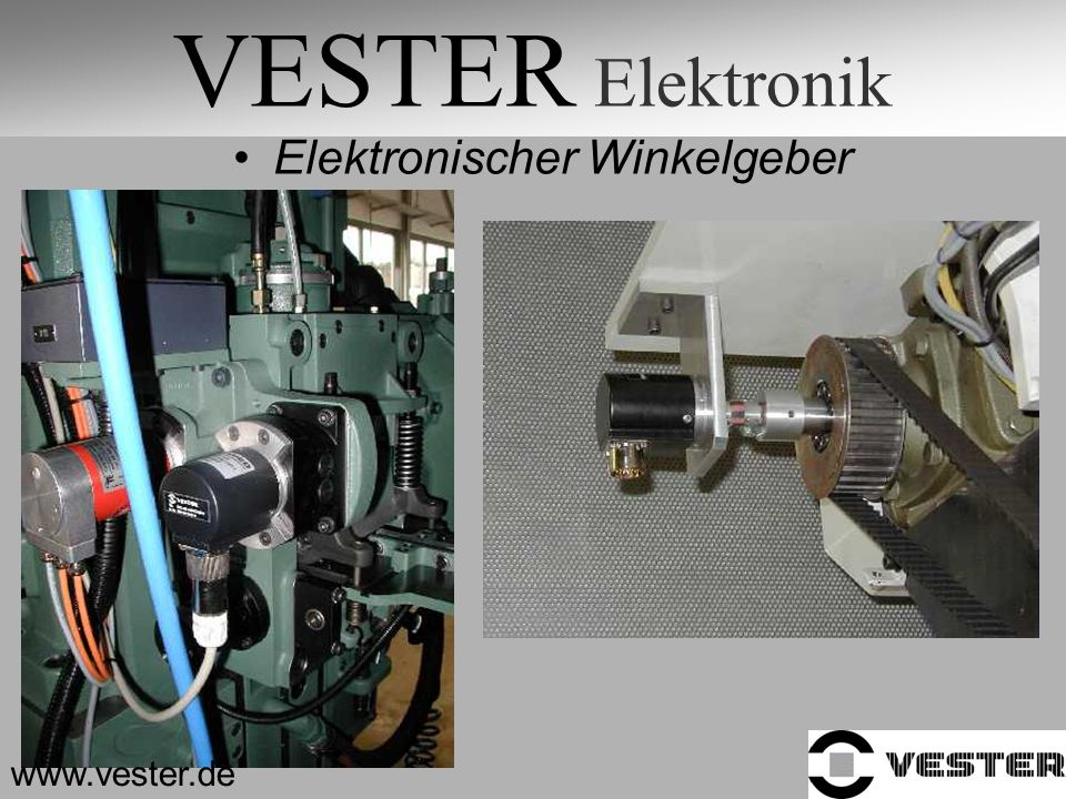 VESTER Elektronik Elektronischer Winkelgeber www.vester.de