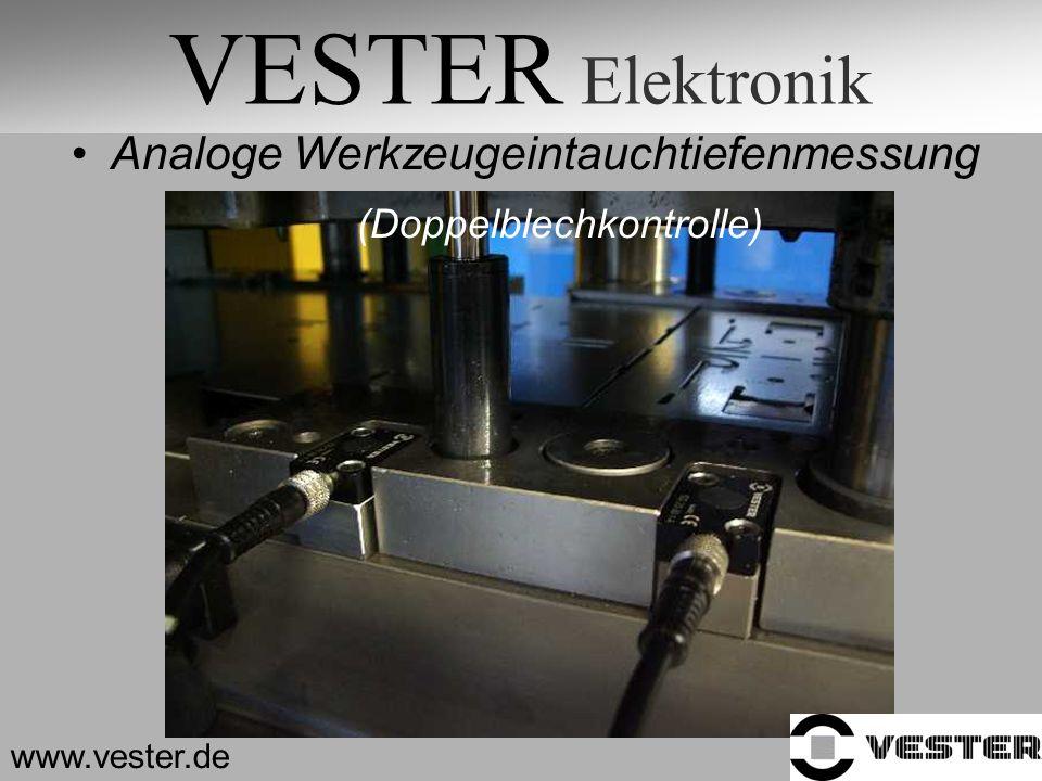 VESTER Elektronik Analoge Werkzeugeintauchtiefenmessung