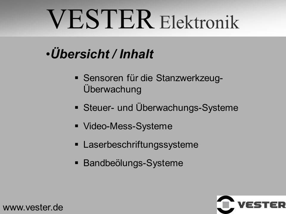 VESTER Elektronik Übersicht / Inhalt