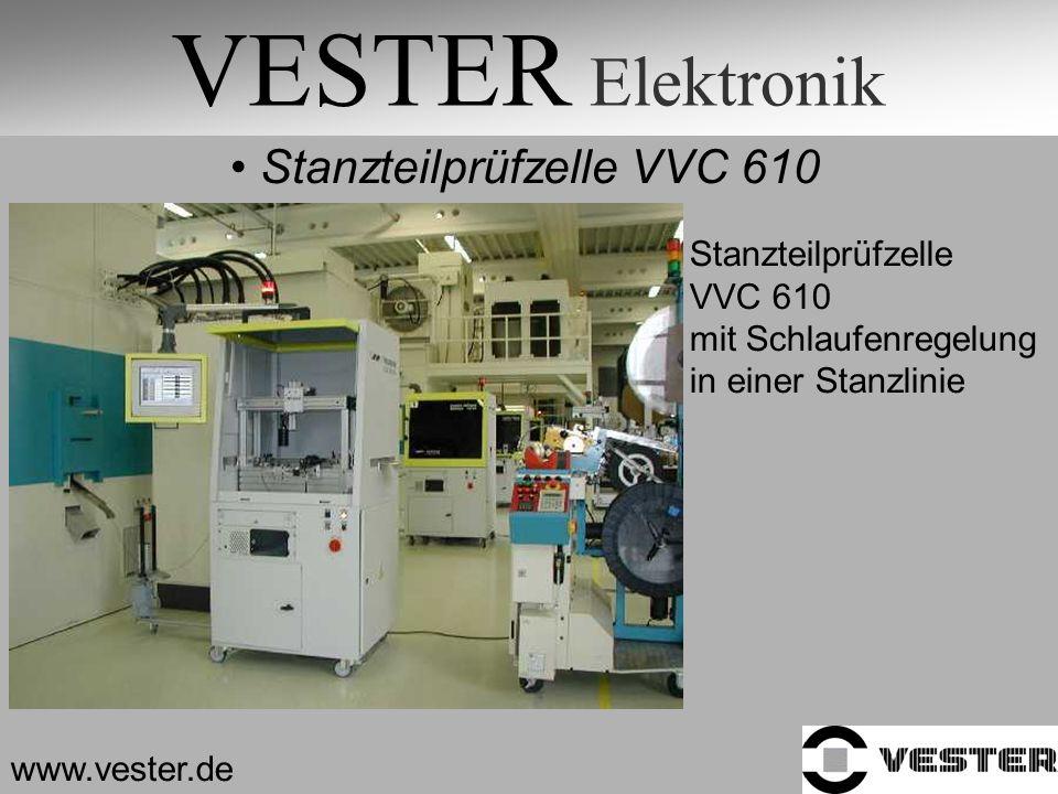 VESTER Elektronik Stanzteilprüfzelle VVC 610 Stanzteilprüfzelle