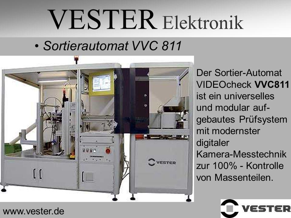 VESTER Elektronik Sortierautomat VVC 811 Der Sortier-Automat