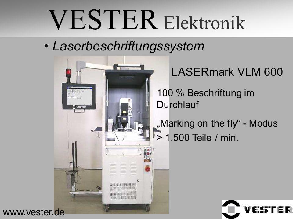 VESTER Elektronik Laserbeschriftungssystem LASERmark VLM 600