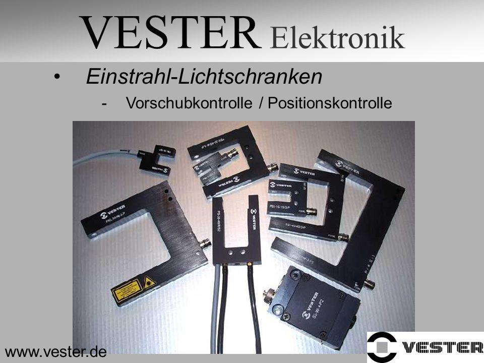 VESTER Elektronik Einstrahl-Lichtschranken