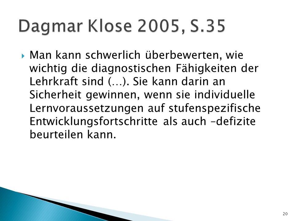 Dagmar Klose 2005, S.35