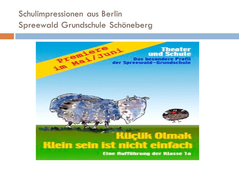 Schulimpressionen aus Berlin Spreewald Grundschule Schöneberg