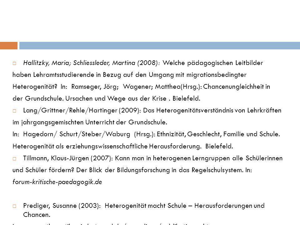 der Grundschule. Ursachen und Wege aus der Krise . Bielefeld.