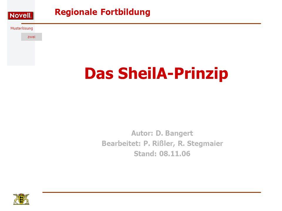 Autor: D. Bangert Bearbeitet: P. Rißler, R. Stegmaier Stand: 08.11.06