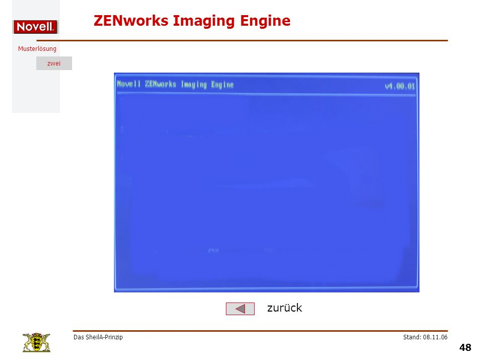 ZENworks Imaging Engine