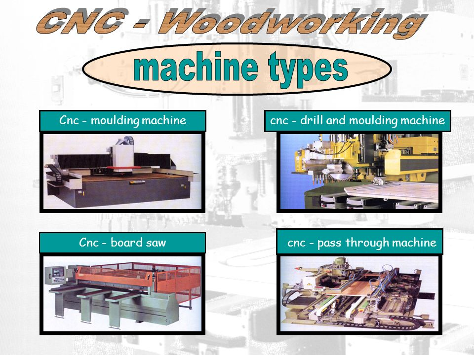 machine types CNC - Woodworking cnc - pass through machine