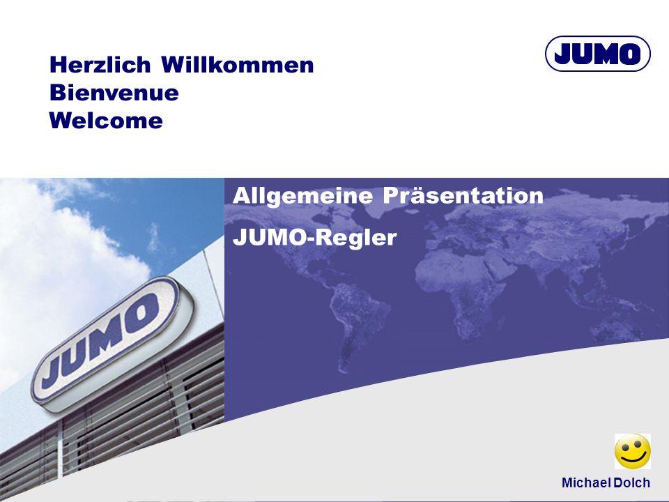 Allgemeine Präsentation JUMO-Regler