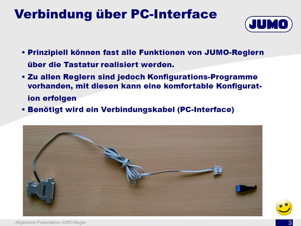 Verbindung über PC-Interface