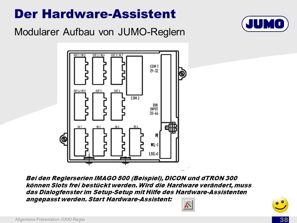 Der Hardware-Assistent