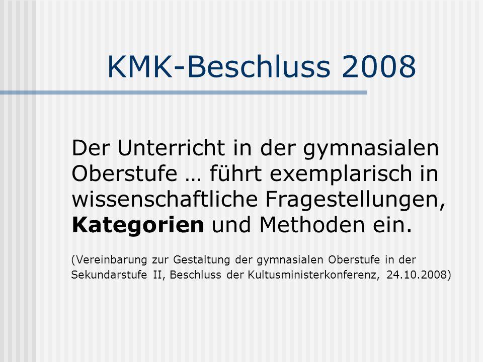 KMK-Beschluss 2008
