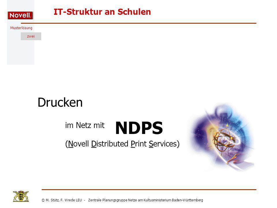 Drucken im Netz mit (Novell Distributed Print Services)