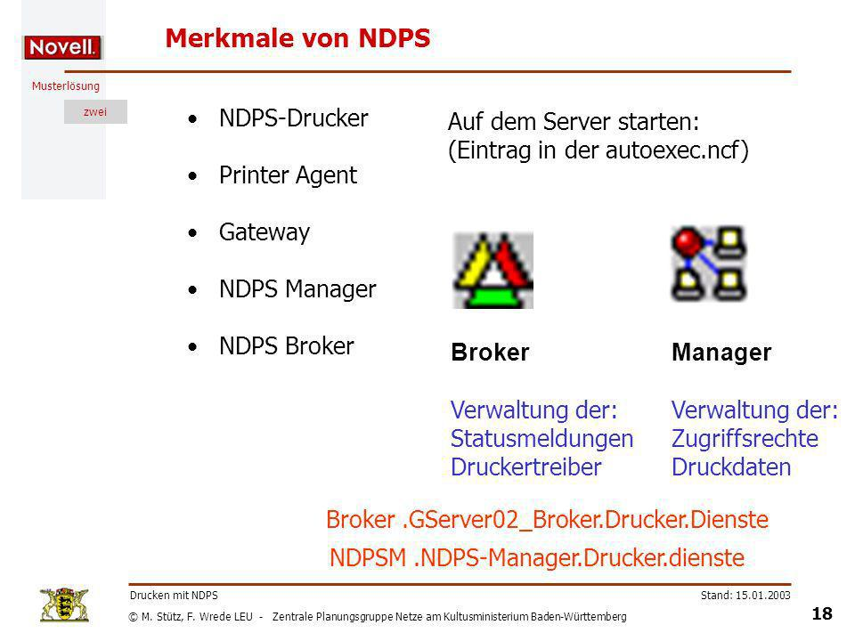 NDPSM .NDPS-Manager.Drucker.dienste