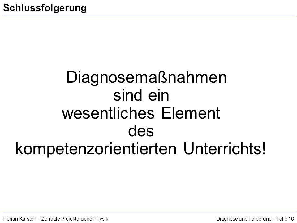 kompetenzorientierten Unterrichts!