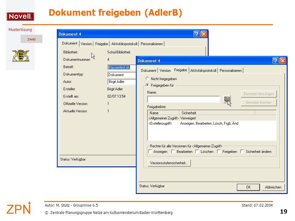 Dokument freigeben (AdlerB)