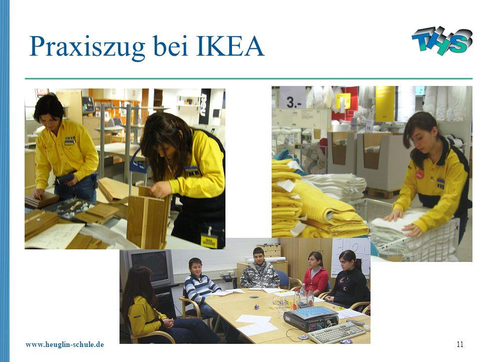 Praxiszug bei IKEA