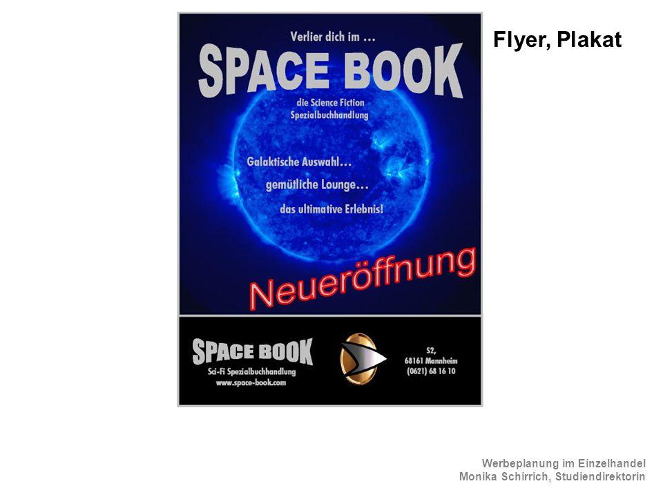 Flyer, Plakat ScienceFiction Flyer 2