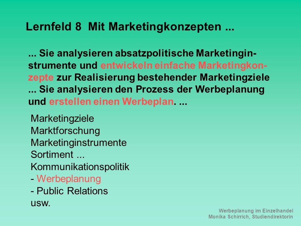 Lernfeld 8 Mit Marketingkonzepten ...