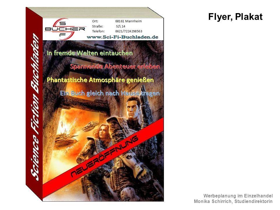 Flyer, Plakat ScienceFiction Flyer