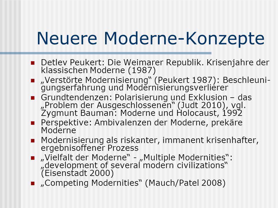 Neuere Moderne-Konzepte