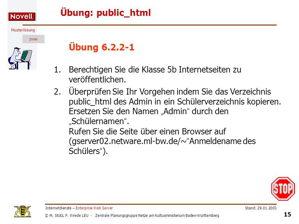 Übung: public_html Übung 6.2.2-1