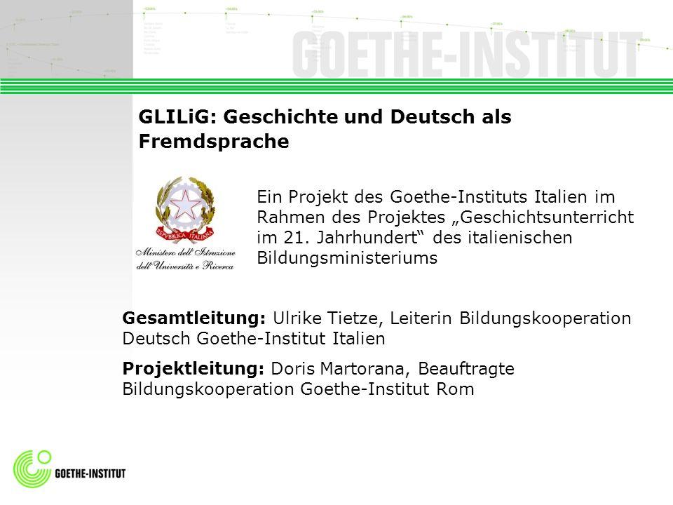 GLILiG: Geschichte und Deutsch als Fremdsprache