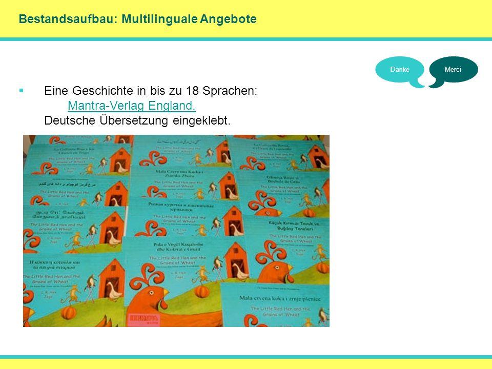 () Bestandsaufbau: Multilinguale Angebote