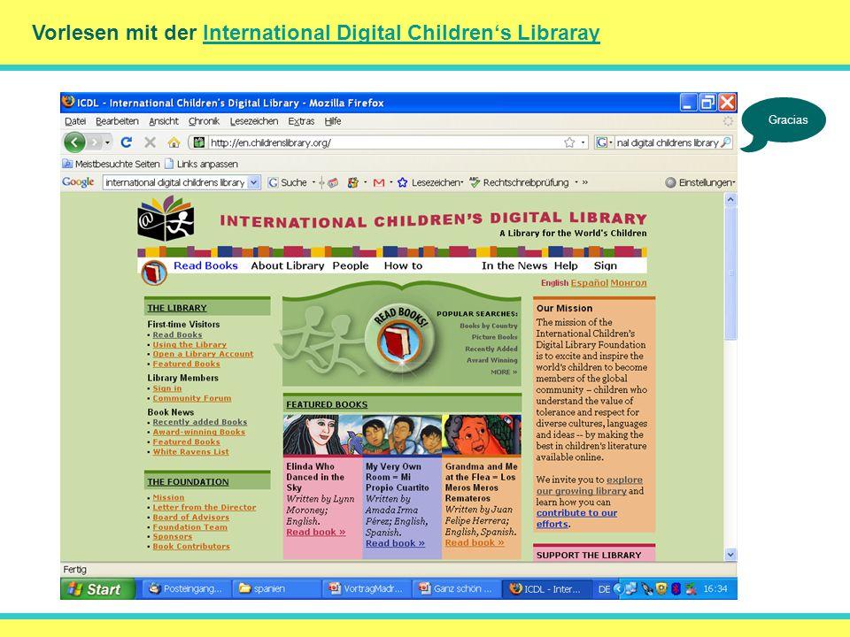 () Vorlesen mit der International Digital Children's Libraray
