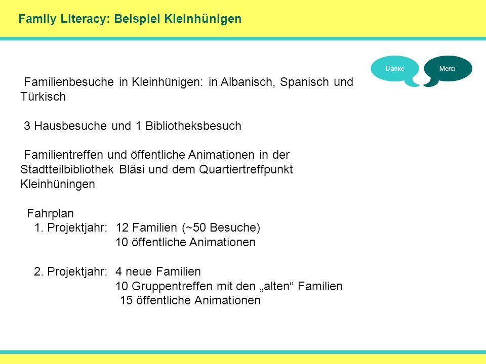 () Family Literacy: Beispiel Kleinhünigen