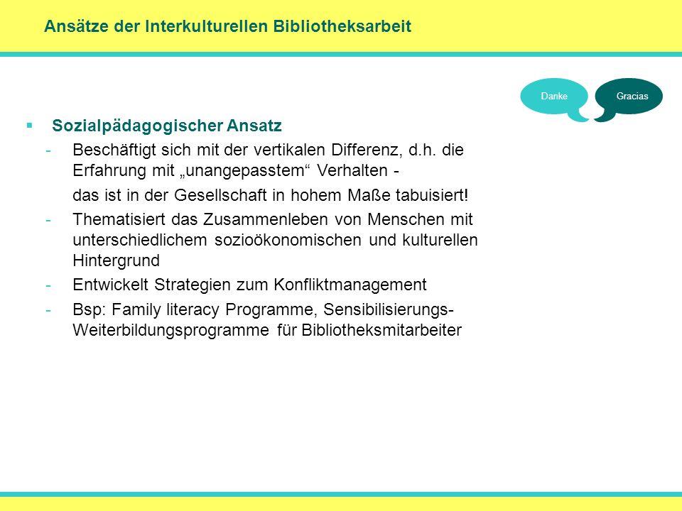 () Ansätze der Interkulturellen Bibliotheksarbeit