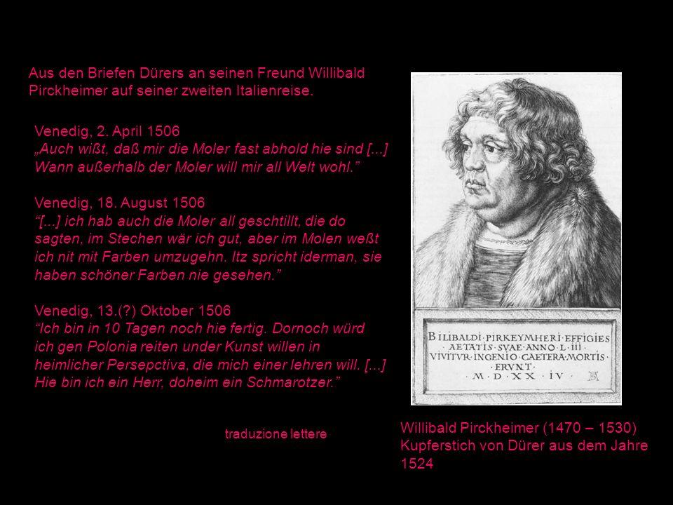 Willibald Pirckheimer (1470 – 1530)