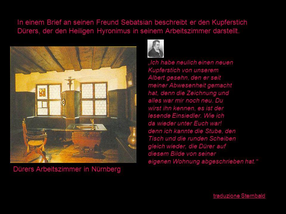 Dürers Arbeitszimmer in Nürnberg