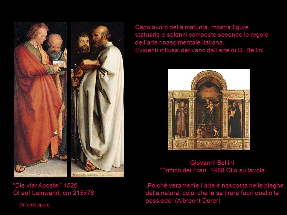 Trittico dei Frari 1488 Olio su tavola