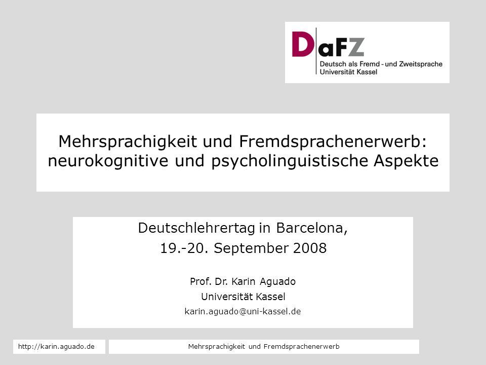 Deutschlehrertag in Barcelona,