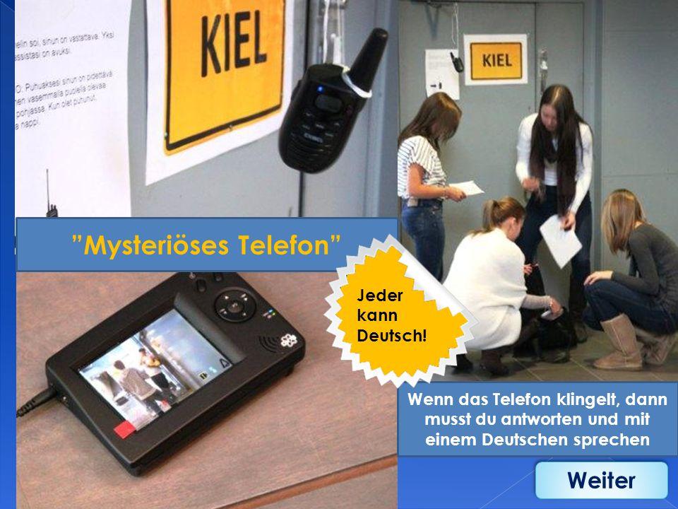 Mysteriöses Telefon