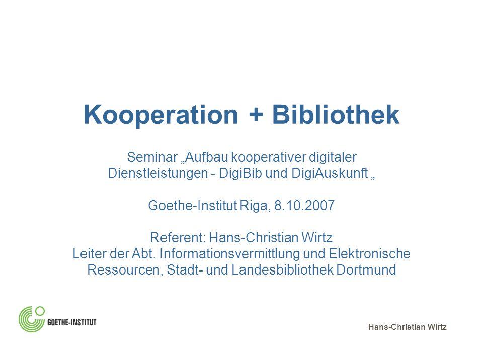 Kooperation + Bibliothek