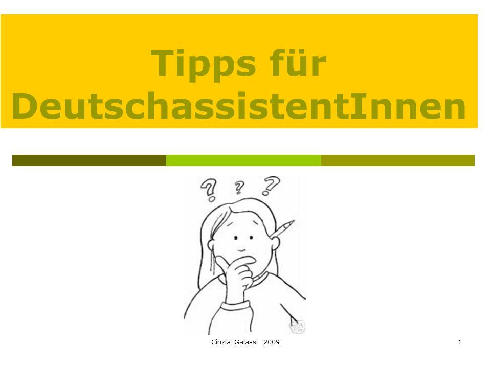 Tipps für DeutschassistentInnen