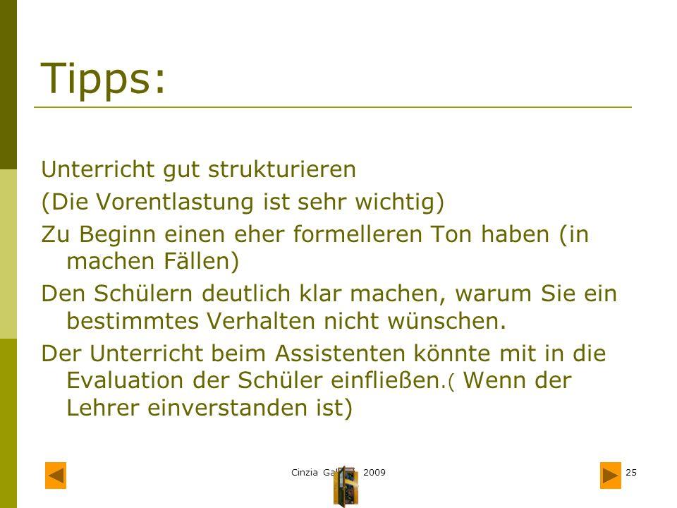 Tipps: Unterricht gut strukturieren