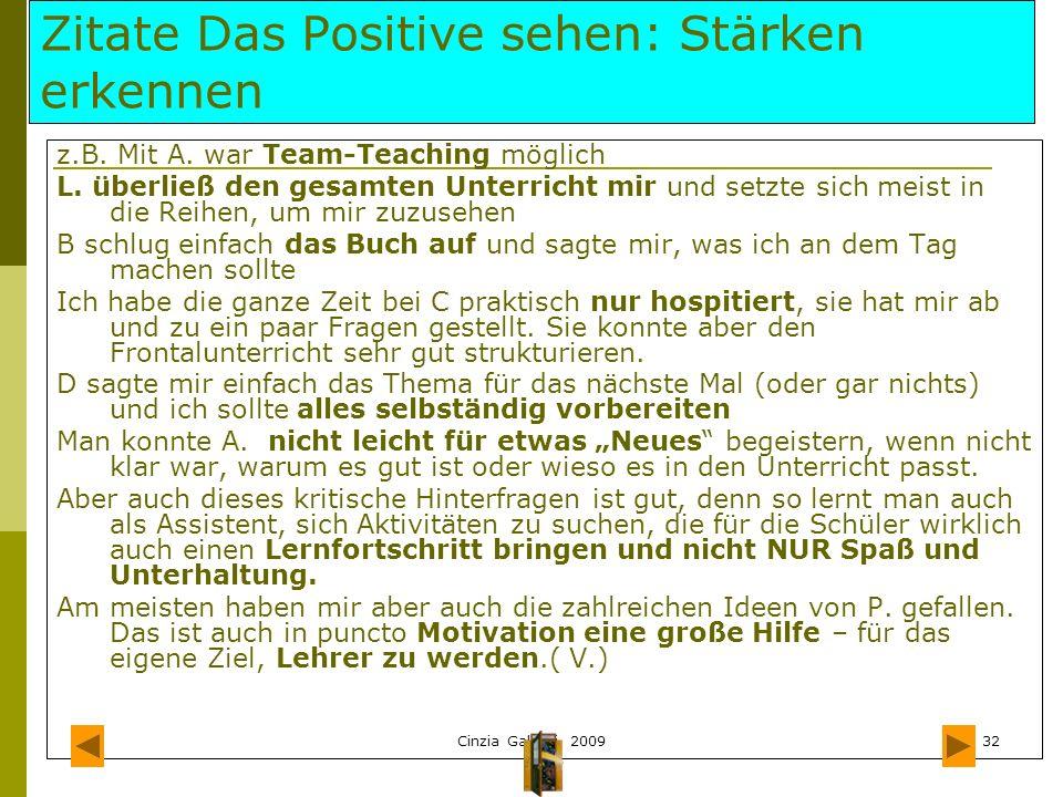Zitate Das Positive sehen: Stärken erkennen