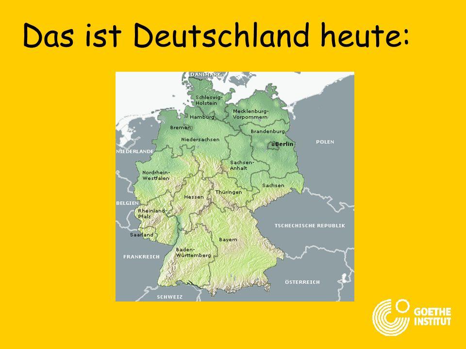 Das ist Deutschland heute:
